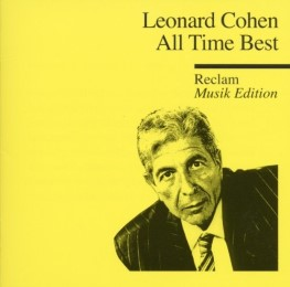 Leonard Cohen - All Time Best - Cover