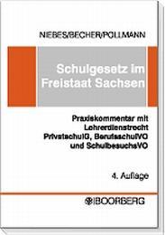 Schulgesetz im Freistaat Sachsen - Cover