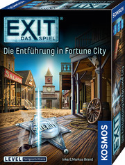 EXIT - Die Entführung in Fortune City - Cover