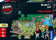 Krimi-Puzzle ??? Kids - T-Rex in Action - Cover