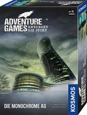 Adventure Games - Die Monochrome AG - Cover