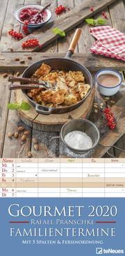 Gourmet 2020 Familienplaner - Cover