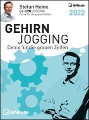 Stefan Heine Gehirnjogging 2022 Tagesabreißkalender - 11,8x15,9 - Rätselkalender - Knobelkalender - Tischkalender - Cover