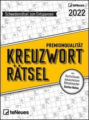 Stefan Heine Kreuzworträtsel 2022 Tagesabreißkalender - 11,8x15,9 - Rätselkalender - Knobelkalender - Tischkalender - Cover