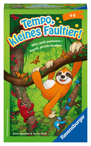 Tempo, kleines Faultier! - Cover