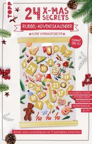 24 X-MAS SECRETS - Rubbel-Adventskalender - Kleine Weihnachtshelfer