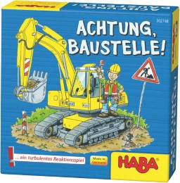 Achtung, Baustelle! - Cover