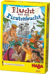 Flucht aus der Piratenbucht - Cover