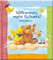 Babyalbum Willkommen, mein Schatz! - Cover
