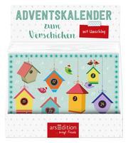 Display Adventskalender zum Verschicken. A5-Format