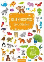 Glitzerspaß Tier-Sticker