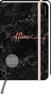 myNOTES Buchkalender Offline DIN A6 2021