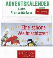 Display Adventskalender zum Verschicken A6-Format für Kinder