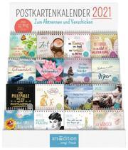 Display Postkartenkalender 2021