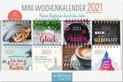 Display Miniwochenkalender 2021