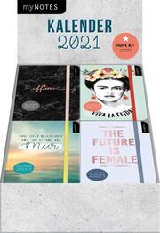 Display myNOTES Buchkalender 2021