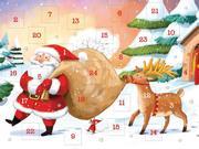 Adventskalender zum Verschicken für Kinder (DIN A6) mit 24 Türchen und Kuvert WWS