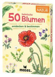 50 heimische Blumen entdecken & bestimmen - Cover