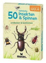 50 heimische Insekten & Spinnen entdecken & bestimmen - Cover