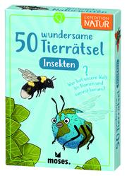 50 wundersame Tierrätsel - Insekten - Cover