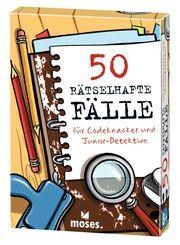 50 rätselhafte Fälle für Codeknacker und Junior-Detektive - Cover