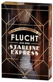 Flucht aus dem Starline Express - Cover