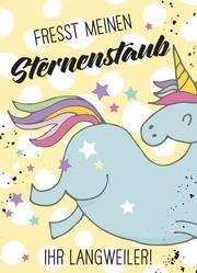 Magnet - Fresst meinen Sternenstaub ihr Langweiler! - Cover
