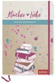 Bücher Liebe: Mein Büchertagebuch - Cover