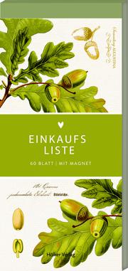 Einkaufsliste (Eichenblätter, Hölker Küchenpapeterie)