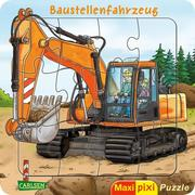 Maxi-Pixi-Puzzle: Baustellenfahrzeug