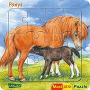 Maxi-Pixi-Puzzle: Ponys