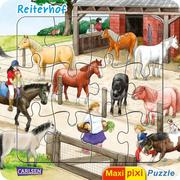 Maxi-Pixi-Puzzle: Reiterhof