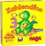 Maxi-Pixi-Spiel 'made by haba' VE 3: Zahlendino (3 Exemplare)