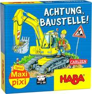 Maxi-Pixi-Spiel 'made by haba' VE 3: Achtung, Baustelle! (3 Exemplare)