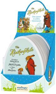 Die Häschenschule: Mini-Pappbilderbuch in Ei-Form