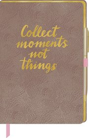 Notizbuch mit Stift - All about rosé - Cover