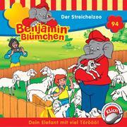 Benjamin Blümchen - Der Streichelzoo - Cover
