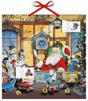 Adventskalender Weihnachtsmann - Cover