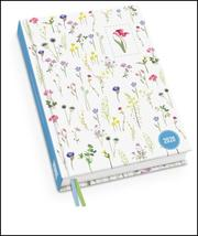 Lovely Flowers Taschenkalender 2020 - Turnowsky-Design - Terminplaner mit Wochenkalendarium - Format 11,3 x 16,3 cm
