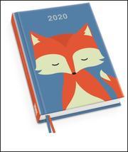 Fuchs Taschenkalender 2020 - Terminplaner mit Wochenkalendarium - Format 11,3 x 16,3 cm