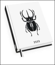 Taschenkalender Atlas-Käfer 2020 - Von Viktoria Åström - Terminplaner mit Wochenkalendarium - Format 11,3 x 16,3 cm