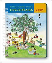 Mein Familienplaner-Buch Wimmlingen 2021 - Mit Illustrationen von Rotraut Susanne Berner - Buch-Kalender - Praktisch, zum Mitnehmen - mit 5 Spalten und vielen Zusatzseiten