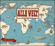 Alle Welt - Der Landkartenkalender 2022 - Cover