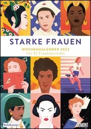 Starke Frauen Wochenkalender 2022 - Cover