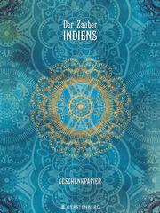 Der Zauber Indiens Geschenkpapier-Heft - Motiv Blaue Träume