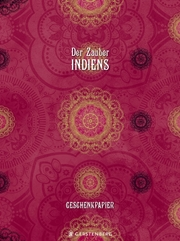 Der Zauber Indiens Geschenkpapier-Heft - Motiv Pinke Pracht