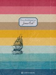 James Cook Geschenkpapier-Heft - Motiv Südsee
