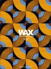 WAX Geschenkpapier-Heft - Motiv Orange-blaue Kreise