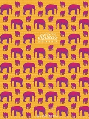 Tiere Afrikas Geschenkpapier-Heft Motiv Elefant