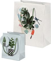 Plant it - Love it! Geschenktüten-Set Motiv Pflanzenkinder
